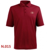 Nike San Francisco 49ers Players Performance Polo -Red