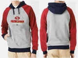 San Francisco 49ers Critical Victory Pullover Hoodie Grey & Red