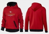 San Francisco 49ers Critical Victory Pullover Hoodie Red & Black