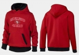 San Francisco 49ers Heart & Soul Pullover Hoodie Red & Black