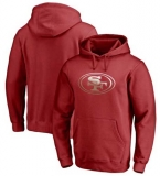 San Francisco 49ers Pro Line by Fanatics Branded Gradient Logo Pullover Hoodie - Red