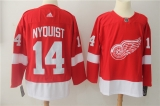 Detroit Red Wings #14 Red NHL Jersey