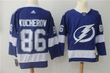 Tampa Bay Lightning #86 Blue NHL Jersey