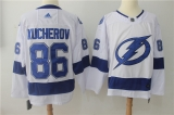 Tampa Bay Lightning #86 White NHL Jersey