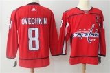 Washington Capitals #8 Red NHL Jersey