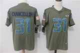 Seattle Seahawks #31 Grey NFL Jersey
