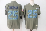 Seattle Seahawks #25 Grey NFL Jersey