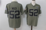Oakland Raiders #52  Grey NFL Jersey (5)