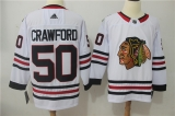 Chicago Blackhawks #50 white NHL Jersey (2)