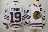 Chicago Blackhawks #19 white NHL Jersey (1)
