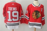 Chicago Blackhawks #19 red NHL Jersey (8)
