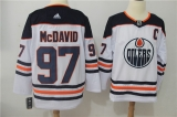 Edmonton Oilers #97 white NHL Jersey (2)