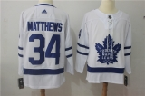 Toronto Maple Leafs #34 white NHL Jersey (1)