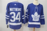 Toronto Maple Leafs #34 blue NHL Jersey (4)