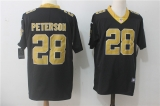 New Orleans Saints #28 Black NFL Jersey (2)
