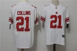 New York Giants #21 White NFL Jersey (1)