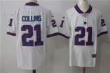 New York Giants #21 White NFL Jersey (8)