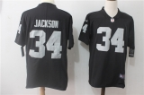 Oakland Raiders #34 Black NFL Jersey (5)
