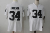 Oakland Raiders #34 White NFL Jersey (13)