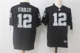 Oakland Raiders #12 Black NFL Jersey (16)