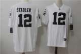 Oakland Raiders #12 White NFL Jersey (21)