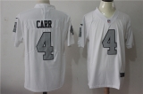 Oakland Raiders #4 White NFL Jersey (26)