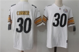 Pittsburgh Steelers #30 White NFL Jerseys (48)