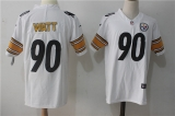 Pittsburgh Steelers #90 White NFL Jerseys (54)