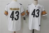 Pittsburgh Steelers #43 White NFL Jerseys (66)