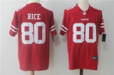 San Francisco 49ers #80 Red NFL Jersey (9)