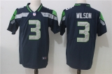 Seattle Seahawks #3 Blue NFL Jersey (4)