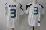 Seattle Seahawks #3 White NFL Jersey (8)