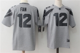 Seattle Seahawks #12 Grey NFL Jersey (9)