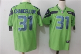 Seattle Seahawks #31 Green NFL Jersey (14)