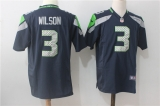 Seattle Seahawks #3 Blue NFL Jersey (20)