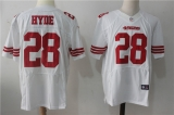 San Francisco 49ers #28 White NFL Jersey (17)