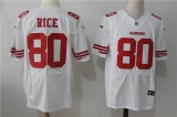 San Francisco 49ers #80 White NFL Jersey (24)