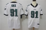 Philadelphia Eagles #91 White NFL Jersey (19)