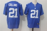 New York Giants #21 Blue NFL Jersey (19)