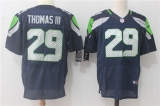 Seattle Seahawks #29 Blue NFL Jersey (24)