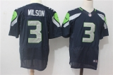Seattle Seahawks #3 Blue NFL Jersey (32)