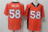 Denver Broncos #58 orange NFL Jerseys (12)