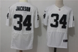 Oakland Raiders #34 White NFL Jersey (32)