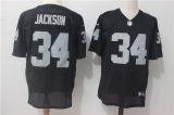Oakland Raiders #34 Black NFL Jersey (35)