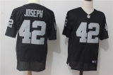 Oakland Raiders #42 Black NFL Jersey (38)