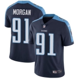 Nike Titans #91 Derrick Morgan Navy Blue Alternate Men\'s Stitched NFL Vapor Untouchable Limited Jersey