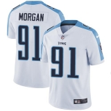 Nike Titans #91 Derrick Morgan White Men\'s Stitched NFL Vapor Untouchable Limited Jersey