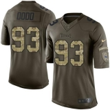 Nike Titans #93 Kevin Dodd Green Men\'s Stitched NFL Limited Salute to Service Jersey