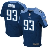 Nike Titans #93 Kevin Dodd Navy Blue Alternate Men\'s Stitched NFL Elite Jersey