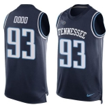 Nike Titans #93 Kevin Dodd Navy Blue Alternate Men\'s Stitched NFL Limited Tank Top Jersey